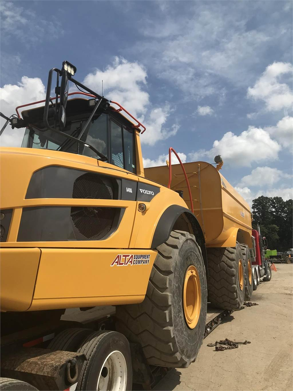 Volvo A40G, Water Trucks, Construction Equipment