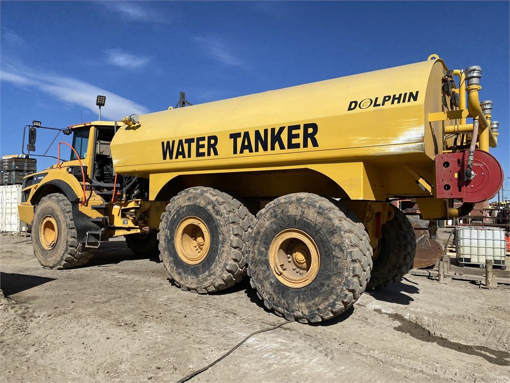 Volvo A40G, Water Tankers, Construction Equipment