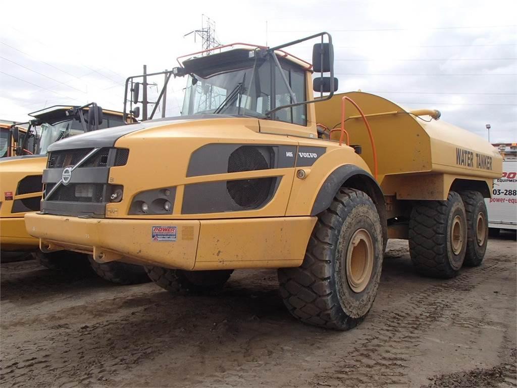 Volvo A40G, Water Trucks, Construction Equipment