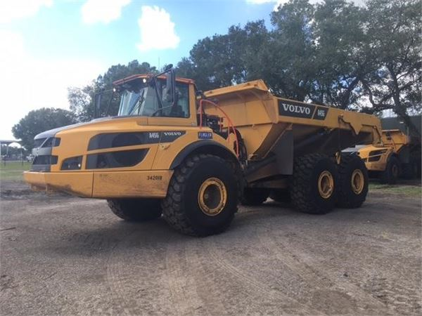 Volvo A45G, Articulated Dump Trucks (ADTs), Construction Equipment
