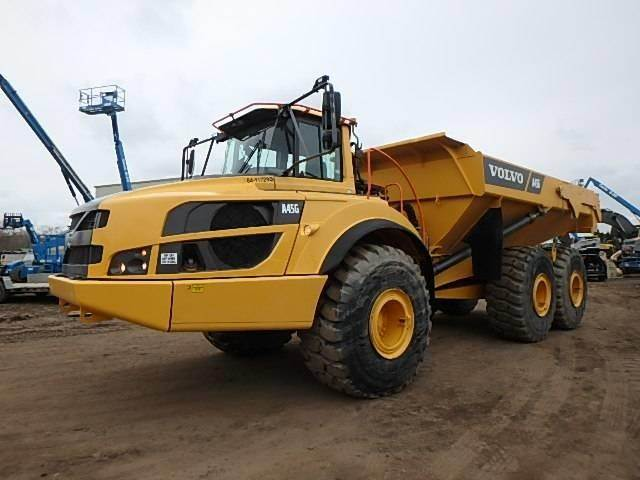 Volvo A45G, Water Trucks, Construction Equipment