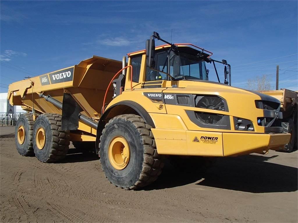 Volvo A45G FS, Articulated Dump Trucks (ADTs), Construction Equipment