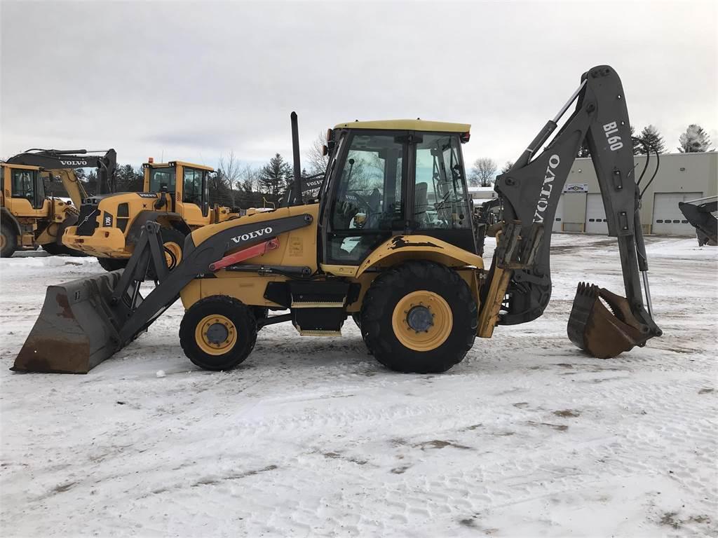Volvo BL60, Backhoe Loaders, Construction Equipment