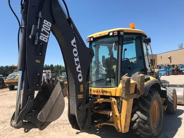 Volvo BL70B, Backhoe Loaders, Construction Equipment