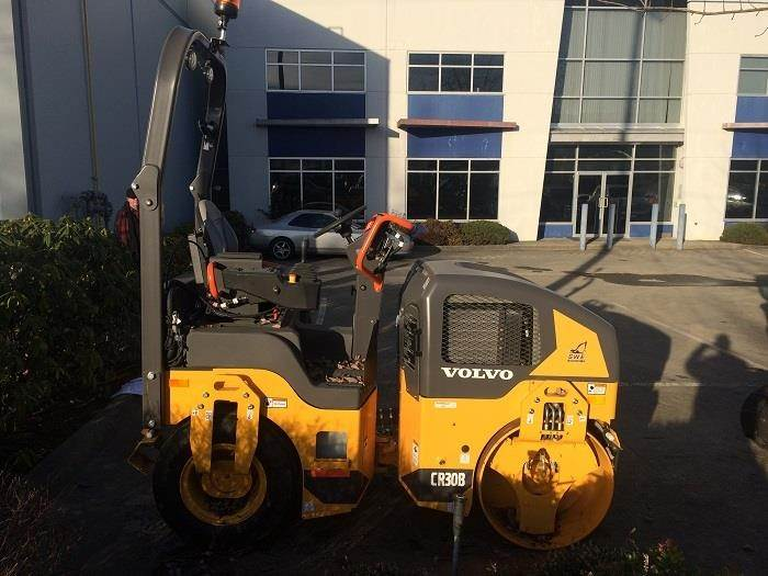 Volvo CR30B, Combi rollers, Construction Equipment
