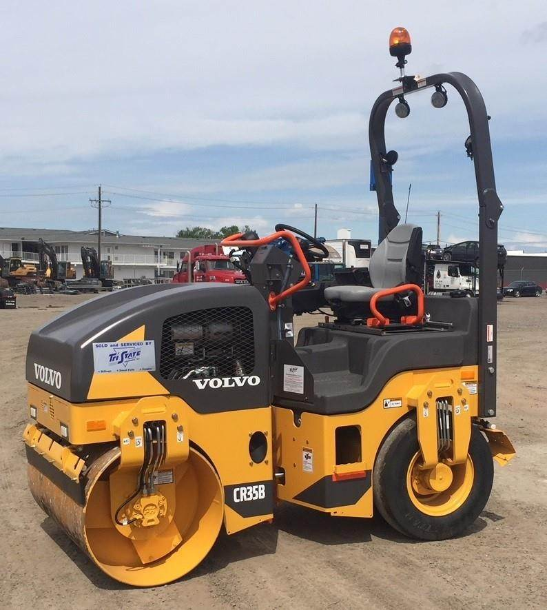 Volvo CR35B, Combi rollers, Construction Equipment