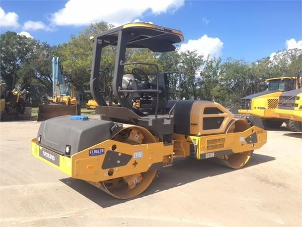 Volvo DD110B, Single drum rollers, Construction Equipment