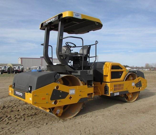 Volvo DD110C, Asphalt Compactors, Construction Equipment