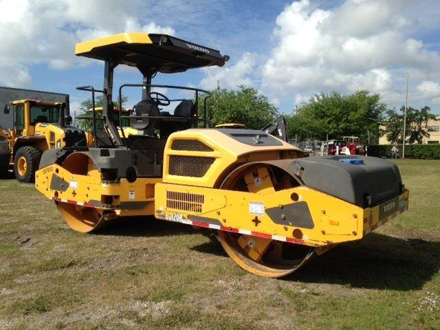 Volvo DD120B, Single drum rollers, Construction Equipment