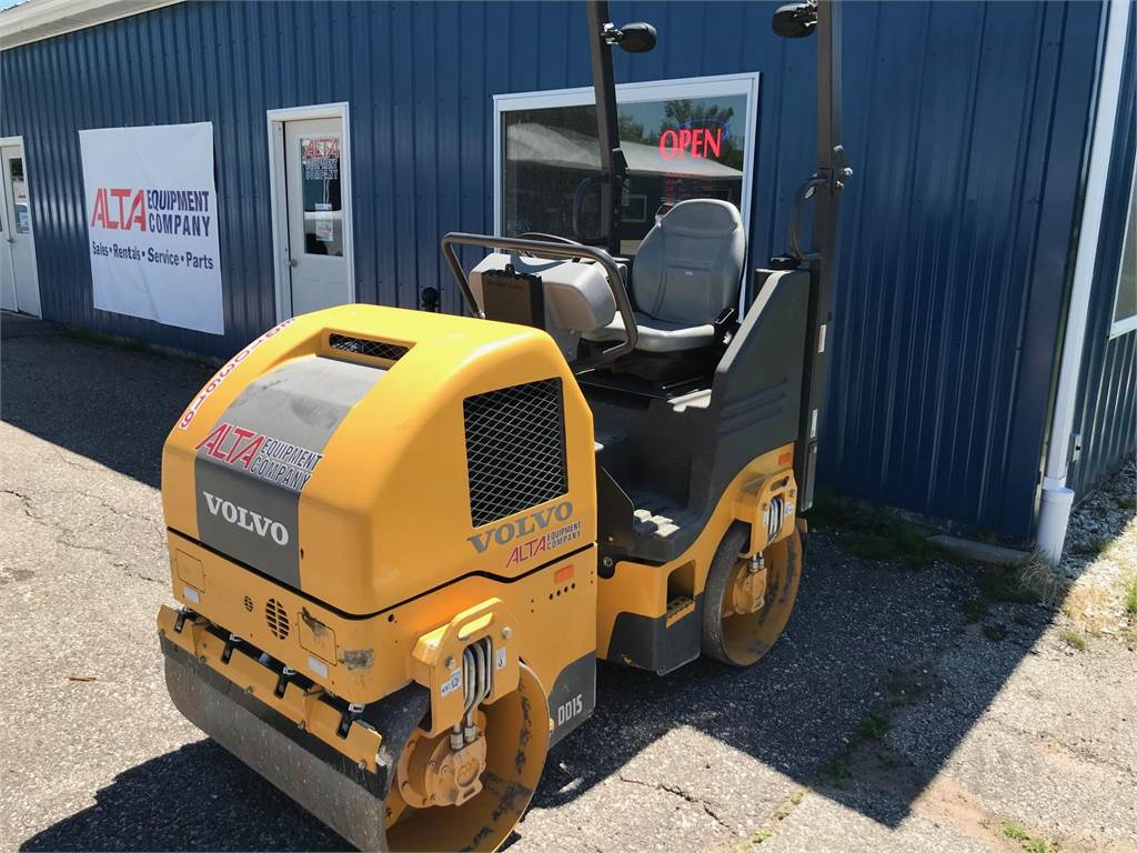 Volvo DD15, Asphalt Compactors, Construction Equipment