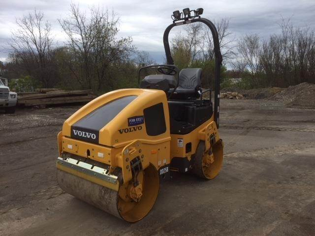 Volvo DD25B, Single drum rollers, Construction Equipment