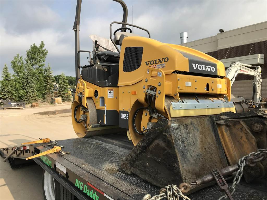 Volvo DD25B, Asphalt Compactors, Construction Equipment
