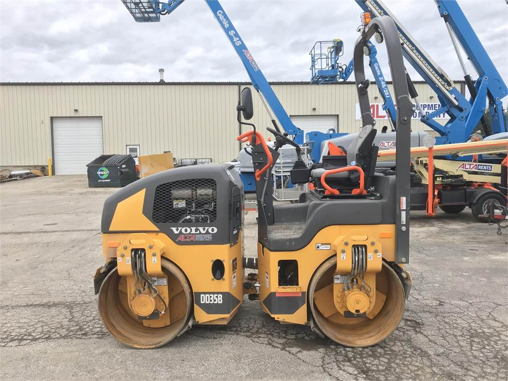 Volvo DD35B, Asphalt Compactors, Construction Equipment