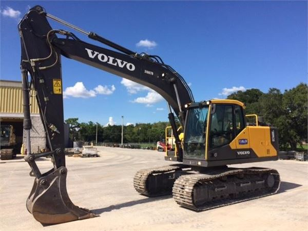 Volvo EC160EL, Crawler Excavators, Construction Equipment