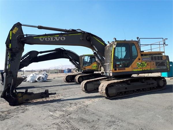 Volvo EC210B, Crawler Excavators, Construction Equipment