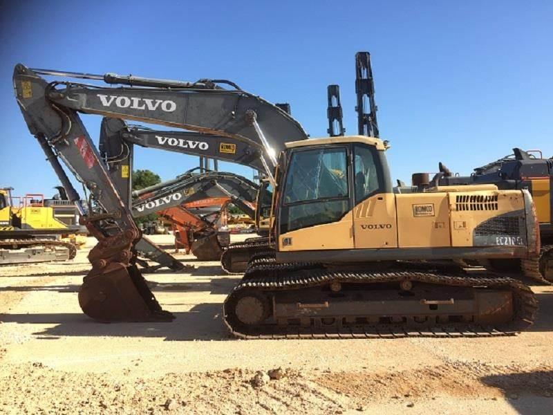 Volvo EC210C LC, Crawler Excavators, Construction Equipment