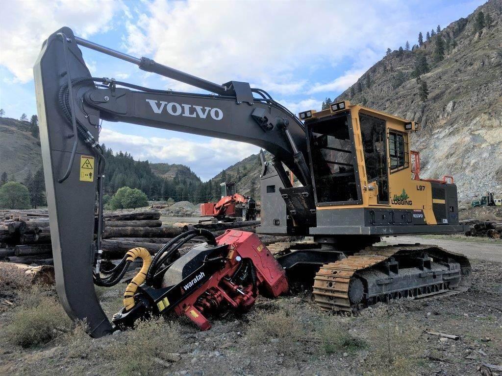 Volvo EC220EL, Harvesters, Forestry Equipment