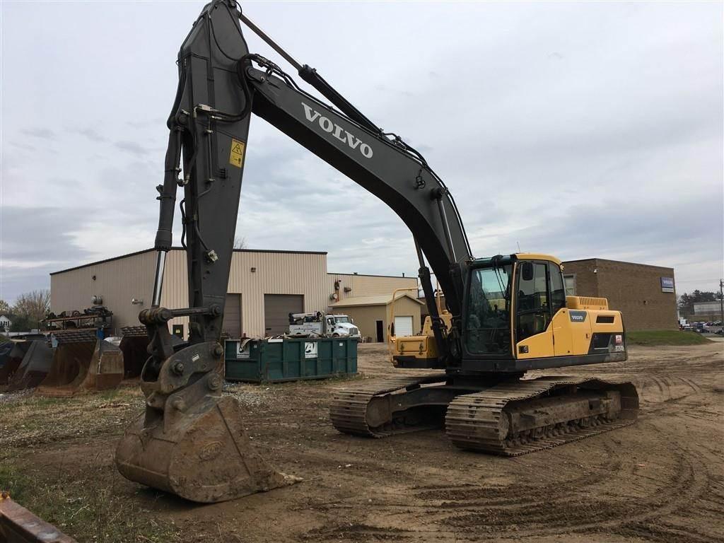 Crawler Excavators - Construction equipment - Volvo CE Americas Used