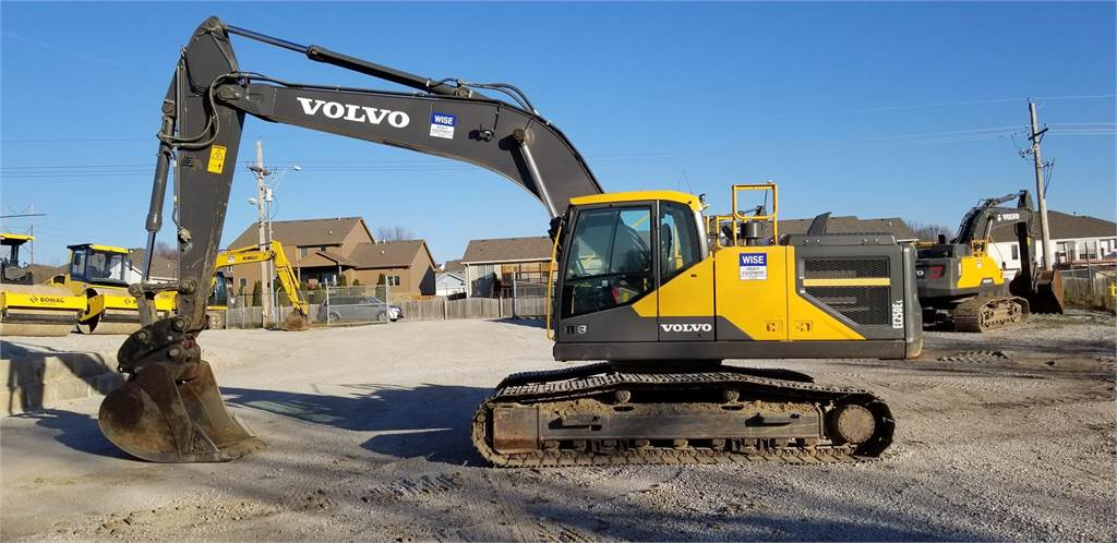 Volvo EC250EL - Crawler Excavators - Construction Equipment