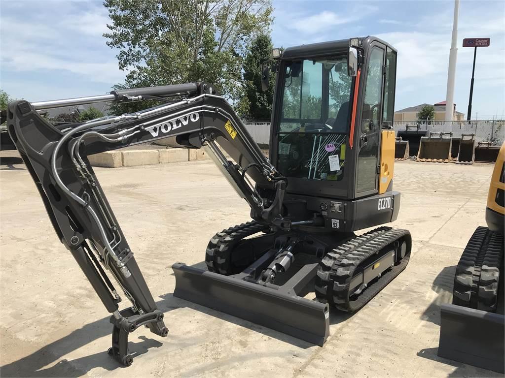 Volvo EC27D, Compact Excavators, Construction Equipment