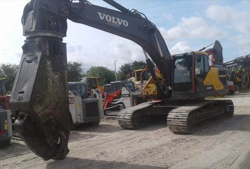 Volvo EC300EL, Waste / Industry Handlers, Construction Equipment