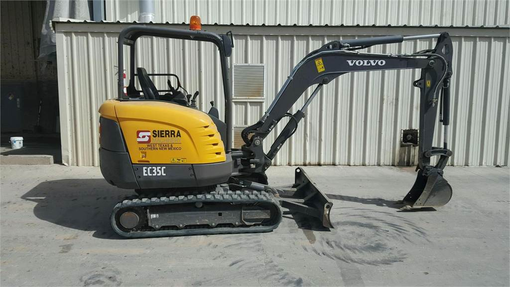 Volvo EC35, Mini Excavators, Construction Equipment