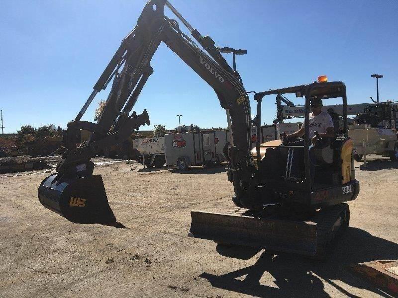 Volvo EC35C, Compact Excavators, Construction Equipment