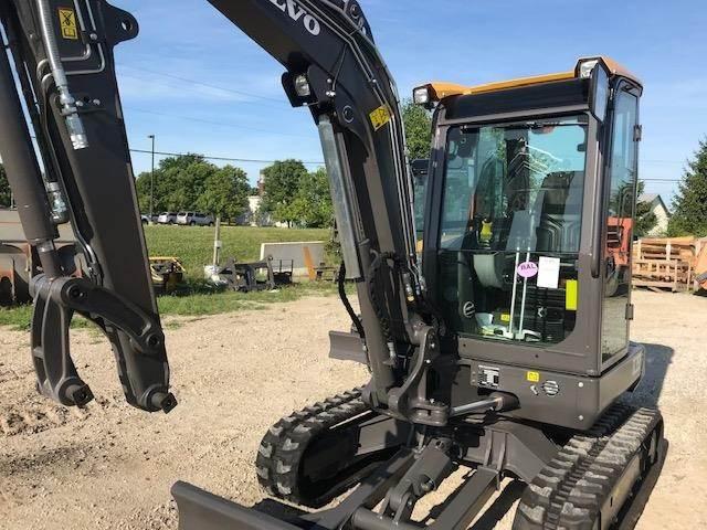 Volvo EC35D, Compact Excavators, Construction Equipment