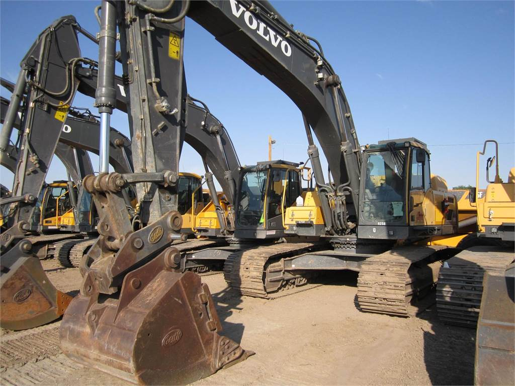 Volvo EC380DL, Crawler Excavators, Construction Equipment