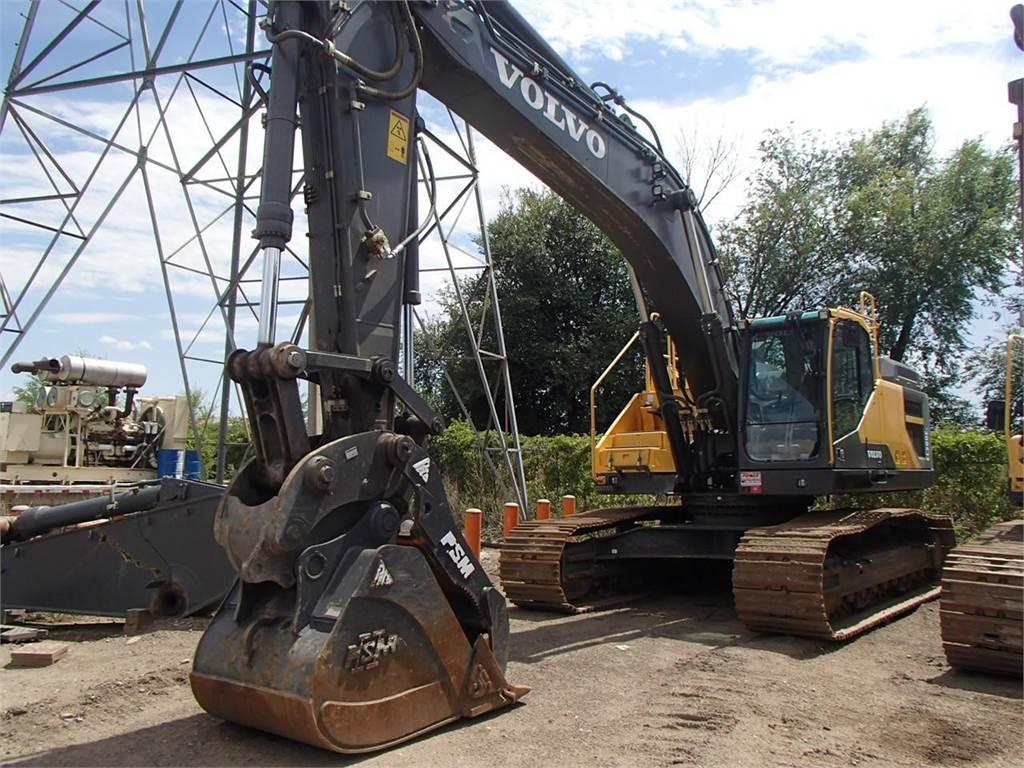 Volvo Dealer Denver >> Volvo EC380EL - Crawler Excavators - Construction Equipment - Volvo CE Americas Used Equipment