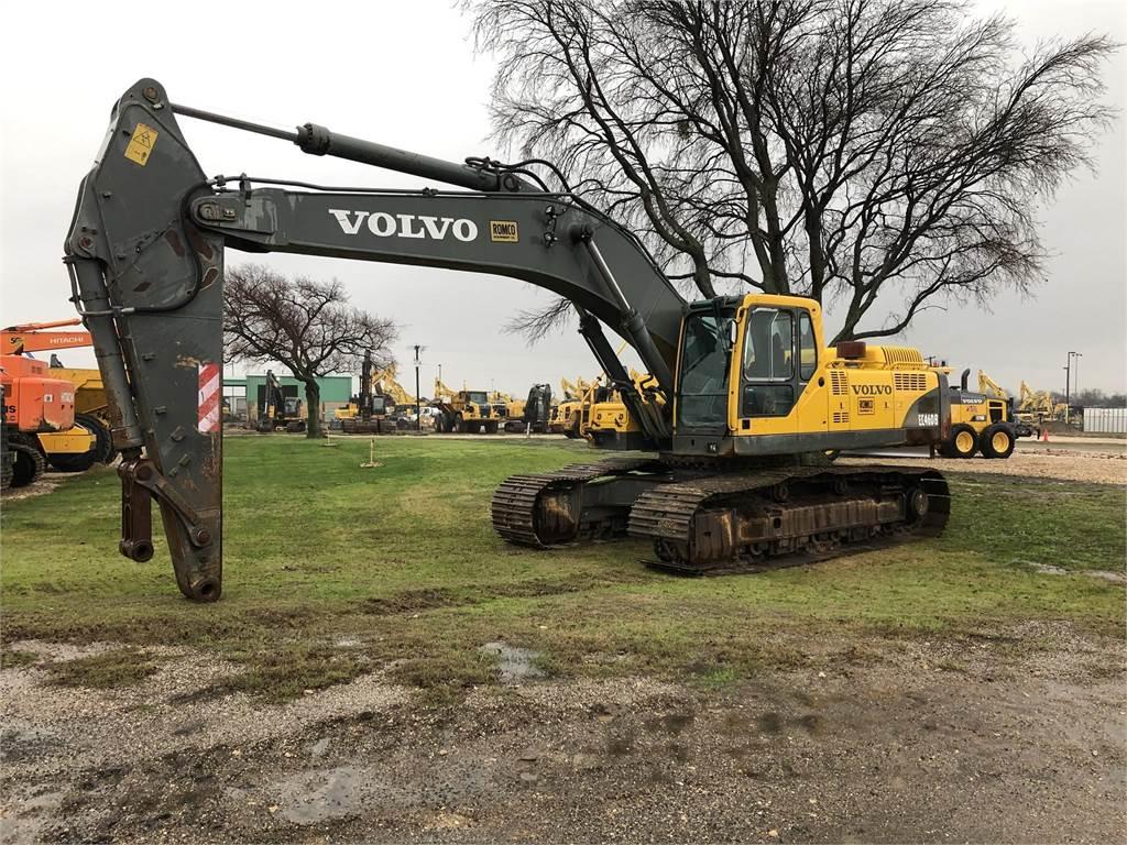 Volvo EC460B LC, Crawler Excavators, Construction Equipment