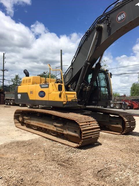 Volvo EC480DL, Crawler Excavators, Construction Equipment