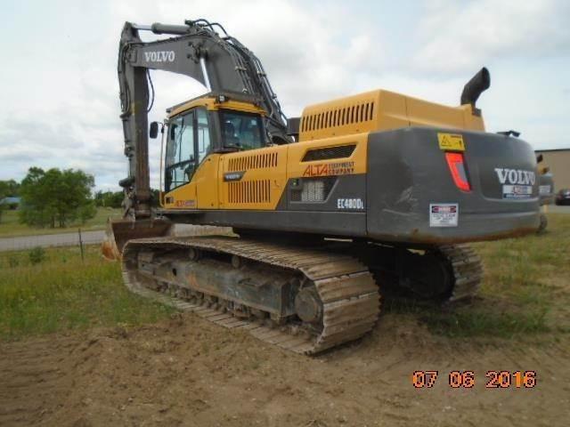 Volvo Ec480dl Crawler Excavators Construction