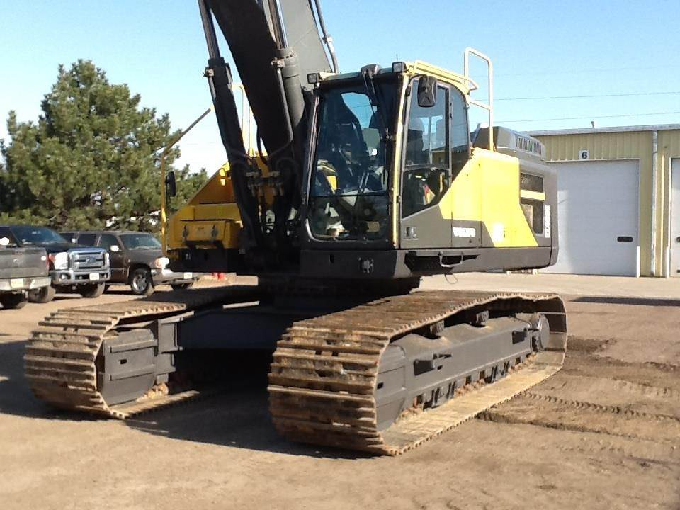 Volvo Ec480el Crawler Excavators Construction Equipment