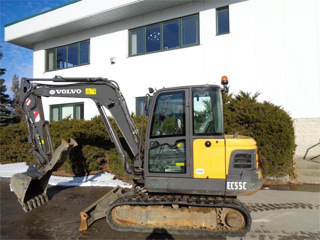 Volvo EC55C, Mini Excavators <7t (Mini Diggers), Construction Equipment