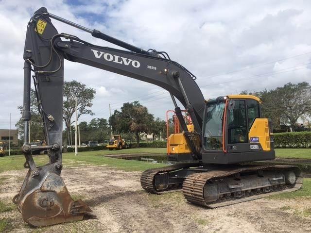 Volvo ECR235EL, Crawler Excavators, Construction Equipment