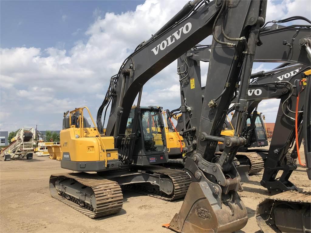 Volvo ECR235EL - Crawler Excavators - Construction Equipment