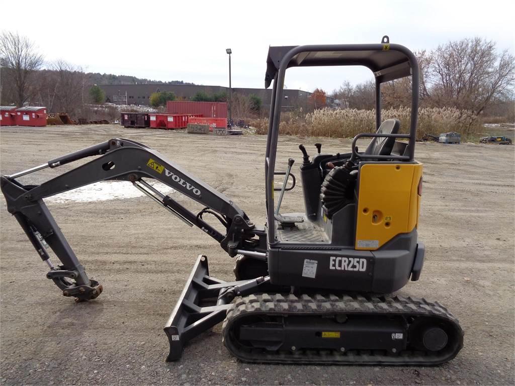 Volvo ECR25D, Mini Excavators <7t (Mini Diggers), Construction Equipment