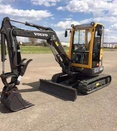 Volvo ECR38, Mini Excavators, Construction Equipment