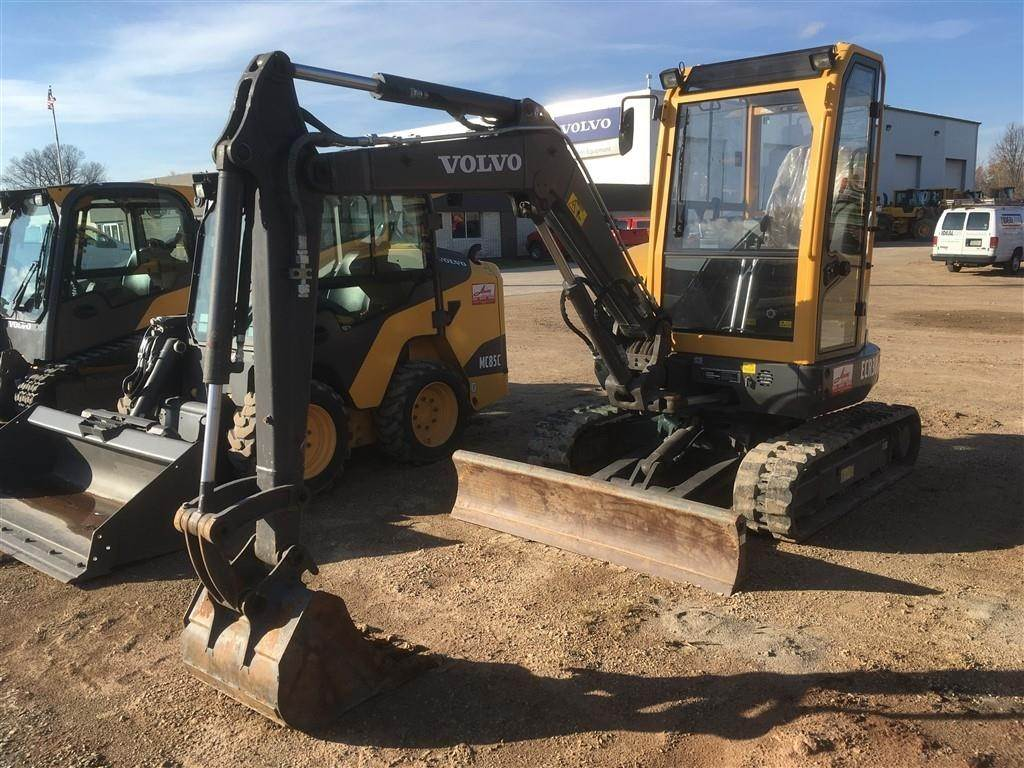 Volvo ECR38, Compact Excavators, Construction Equipment