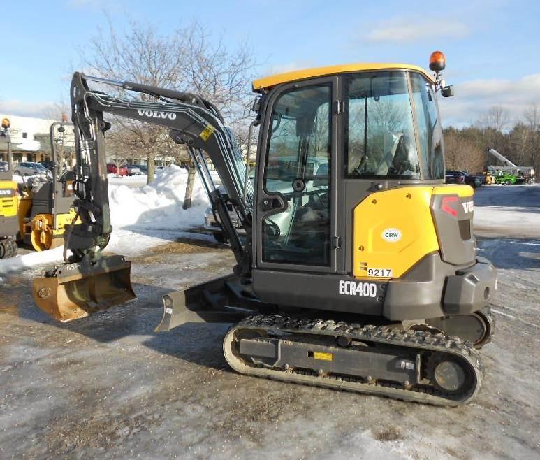 Volvo ECR40D, Mini Excavators, Construction Equipment