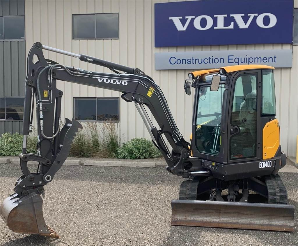 Volvo ECR40D, Compact Excavators, Construction Equipment