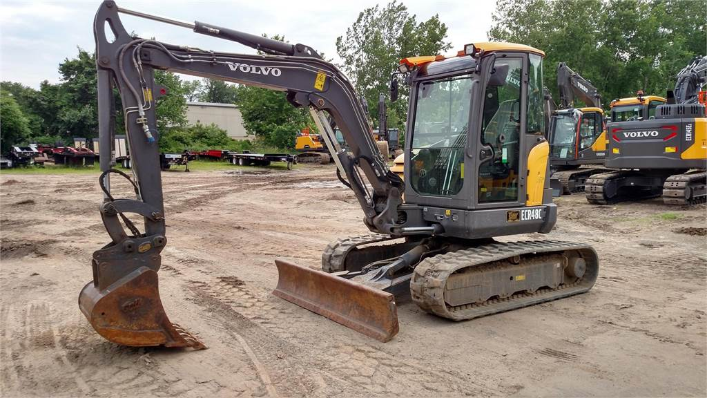 Volvo ECR48C, Mini Excavators, Construction Equipment