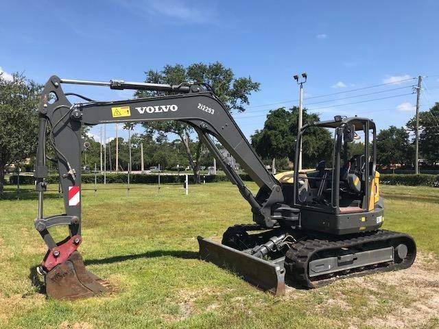Volvo ECR88D, Crawler Excavators, Construction Equipment