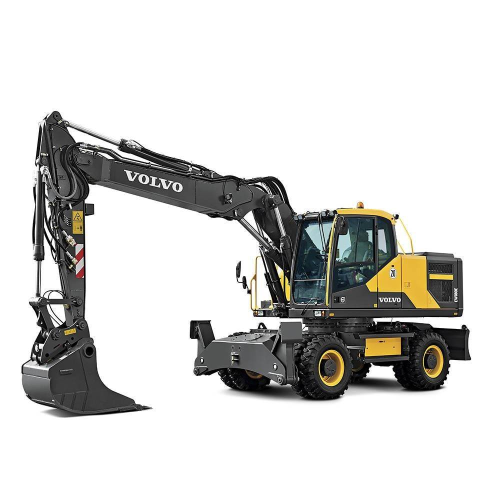 Volvo EW180E, Wheeled Excavators, Construction Equipment