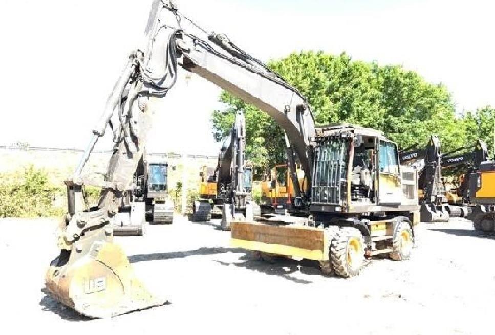 Volvo EW180E, Wheeled Excavators, Construction Equipment