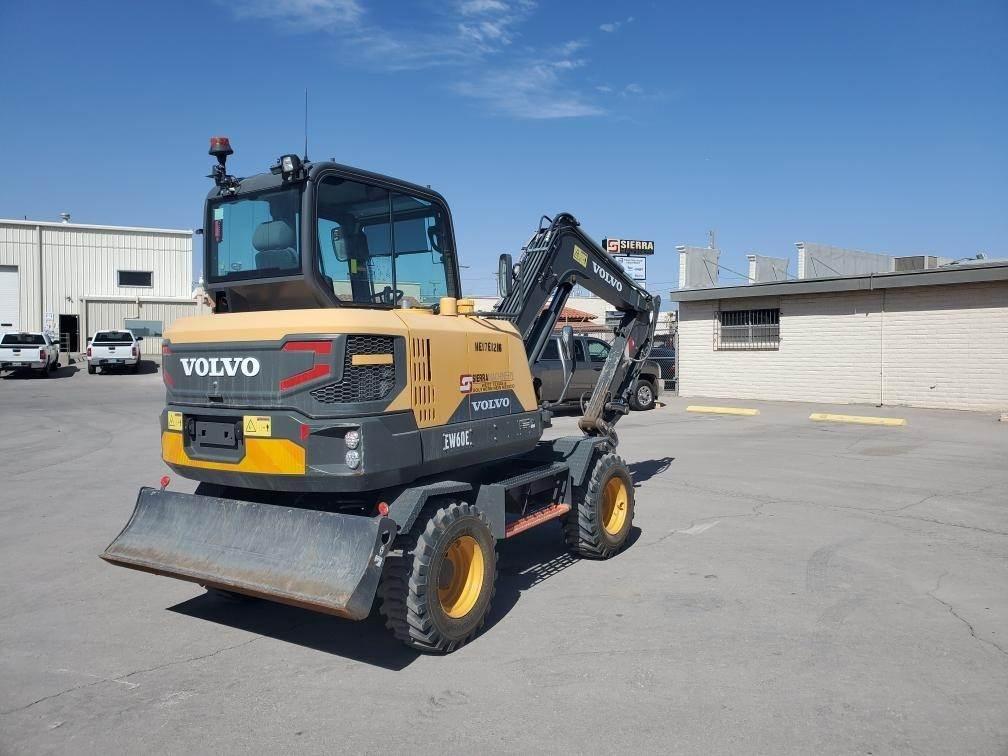 Volvo EW60E, Wheeled Excavators, Construction Equipment