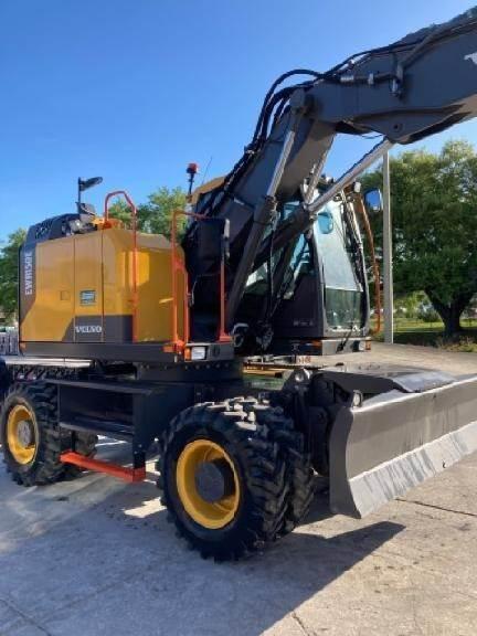 Volvo EWR150E, Wheeled Excavators, Construction Equipment