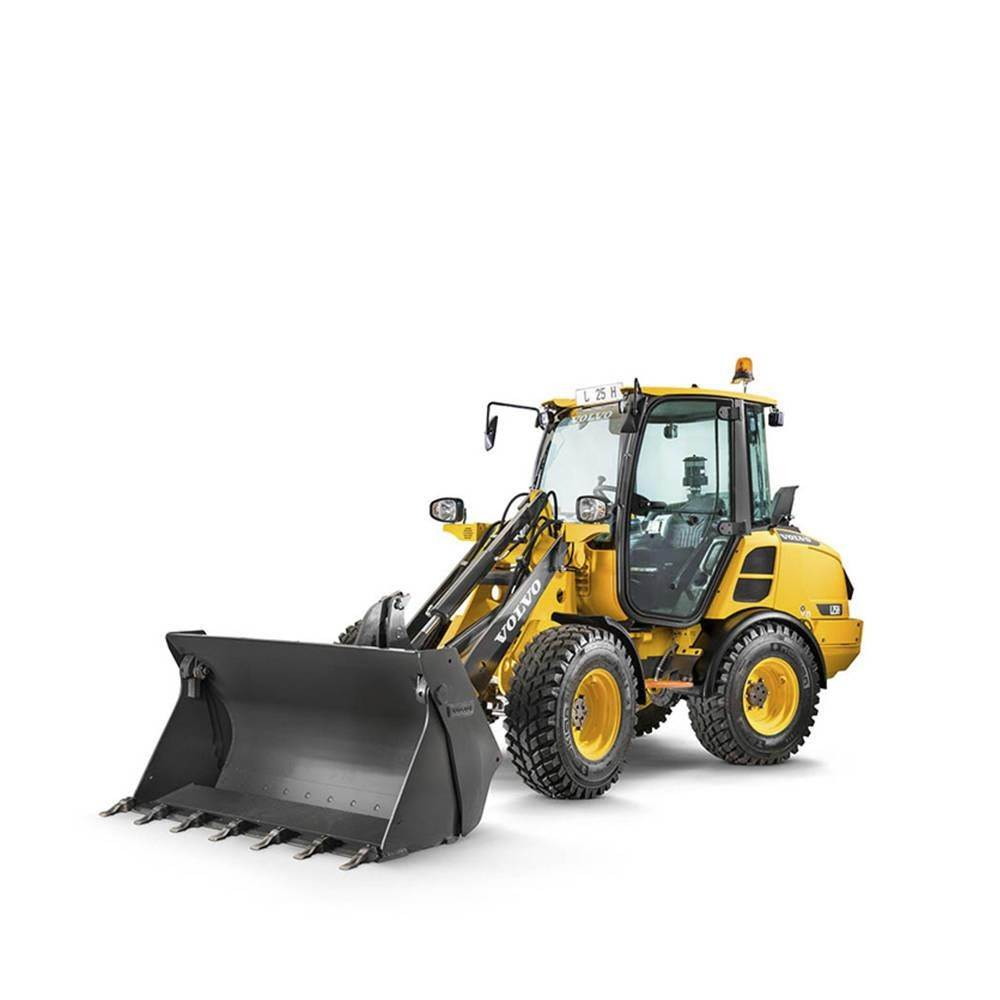 Volvo L25H, Wheel Loaders, Construction Equipment