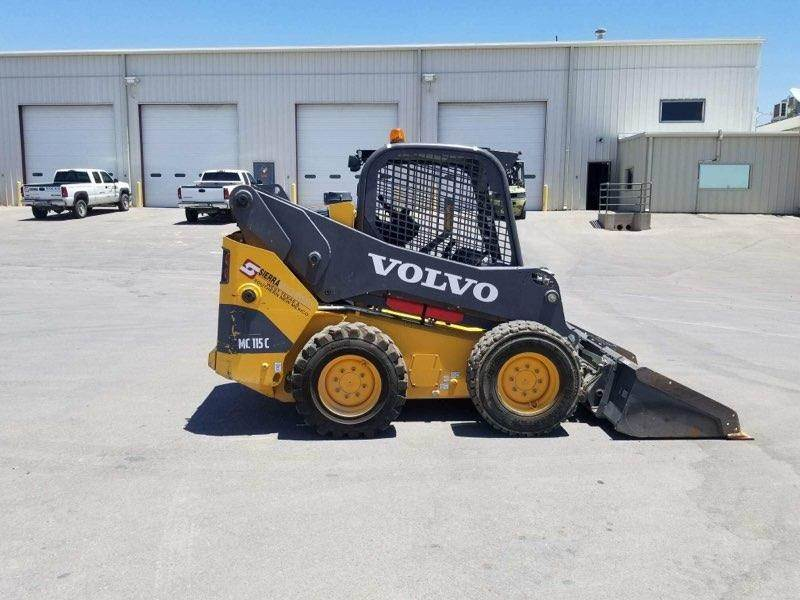 Volvo MC115C, Skid Steer Loaders, Construction Equipment